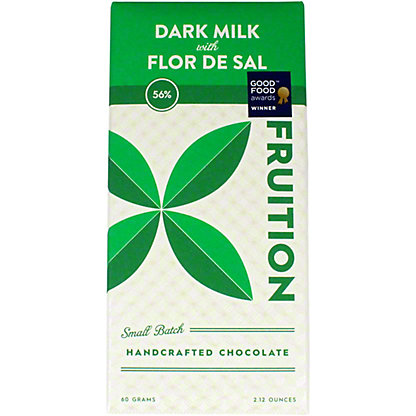 Fruition Flor De Sal 56% Sea Salt Bar, 60 g