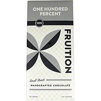 Fruition 100% Chocolate Bar, 60 g