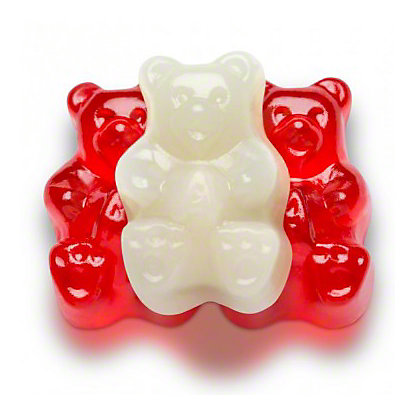 Albanese Valentine Gummi Bears, Sold by the pound