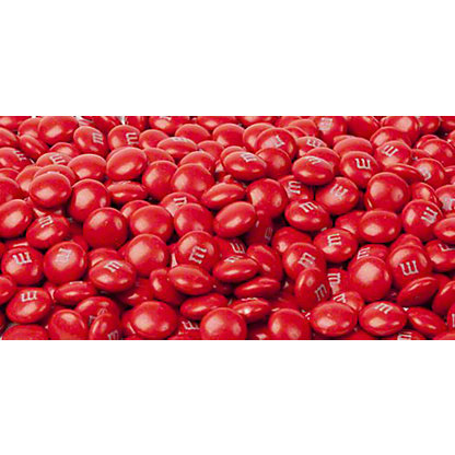 Mars Red M&Ms, Sold by the Pound