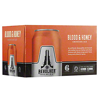 Revolver Brewing Blood & Honey American Ale, 6 pk