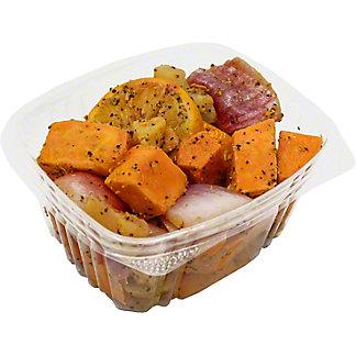 Central Market Orange Roasted Carrots Parsnips & Fennel, by lb