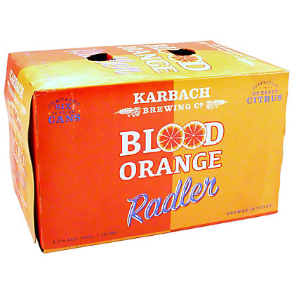 Karbach Brewing Blood Orange Radler, 6 pk