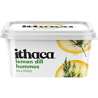 Ithaca Cold Crafted Fresh Lemon Dill Hummus, 10 oz