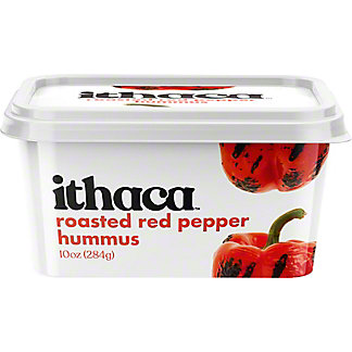 Ithaca Cold Crafted Roasted Red Pepper Hummus, 10 oz