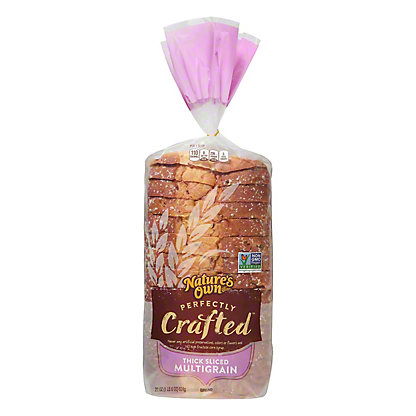 Nature's Own Perfectly Crafted Thick Sliced Multigrain Bread, 22 oz