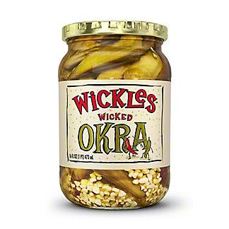 Wickles Wickles Wicked Okra, 16 oz