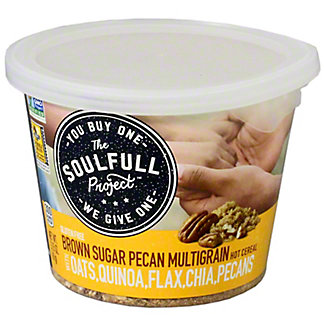 The Soulfull Project Multigrain Cup Brown Sugar Pecan, 2.15 oz