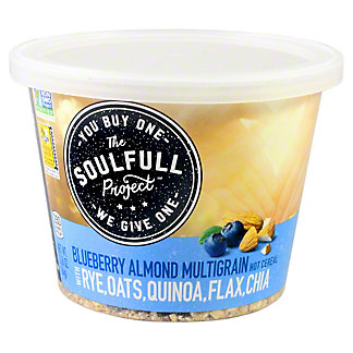 The Soulfull Project Multigrain Cup Blueberry Almond, 2.26 oz