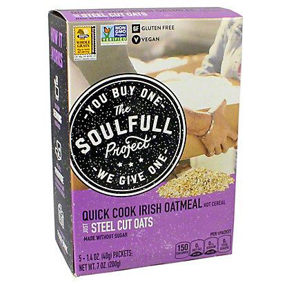 The Soulful Project Irish Oatmeal, 7 oz
