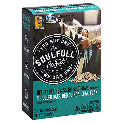 The Soulful Project Hearty Grains & Seeds, 7 oz