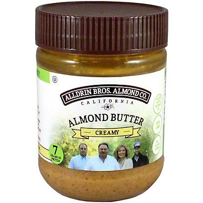 Alldrin Bros Creamy Almond Butter, 12 oz