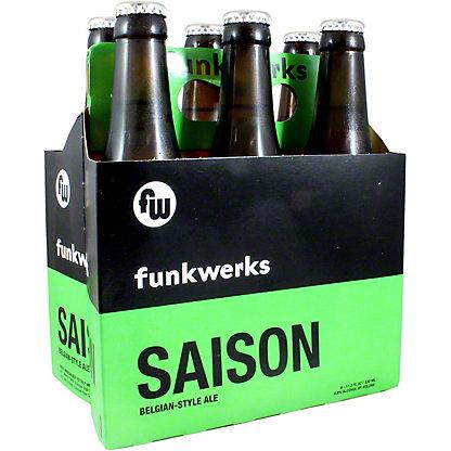 Funkwerks Saison Belgian Style Ale, 6 pk