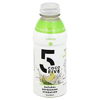 Coco 5 Lemon Limon Coconut Water, 16.9 oz