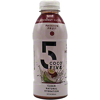 Coco 5 Coconut Water Passion Fruit, 16 oz