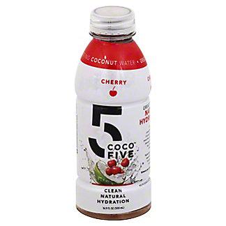Coco 5 Cherry Coconut Water, 16.9 oz