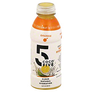 Coco 5 Orange Coconut Water, 16.9 oz