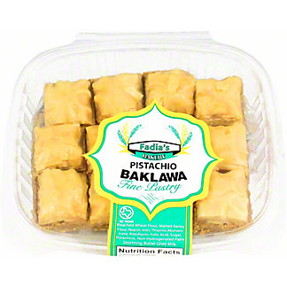 Fadia's Bakery Pistachio Baklava, ea