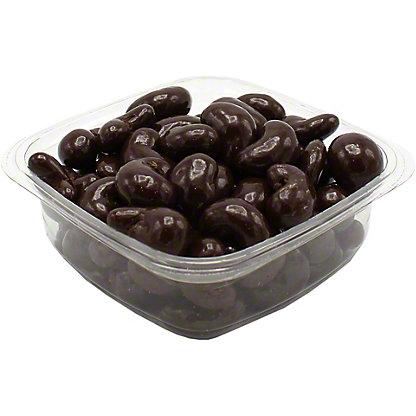 Marich Dark Chocolate Sea Salt Cashews, Sold by the pound