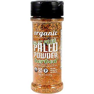 Paleo Powder Organic Herbed Salt Free Paleo Seasoning, 2 OZ