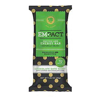 Empact Chocolate Date Night Protein & Energy Bar, 1.26 oz