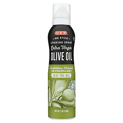 H-E-B Select Ingredients No Stick Extra Virgin Olive Oil Spray, 5 oz