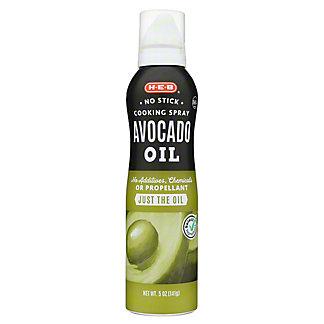 H-E-B Select Ingredients Avocado Oil No Stick Cooking Spray, 5 oz