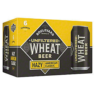 Boulevard Wheat Unfiltered Beer, 6 pk
