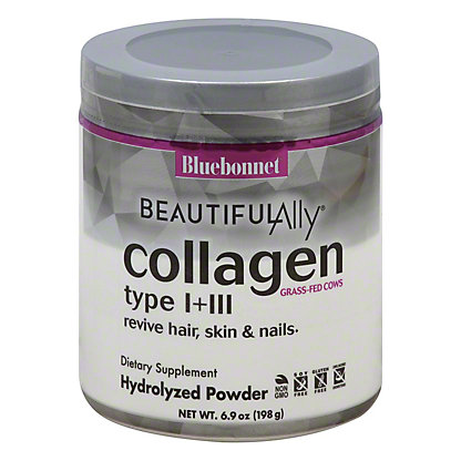 Bluebonnet Beautiful Ally Collagen Hydrolyzed Powder, 6.9 oz