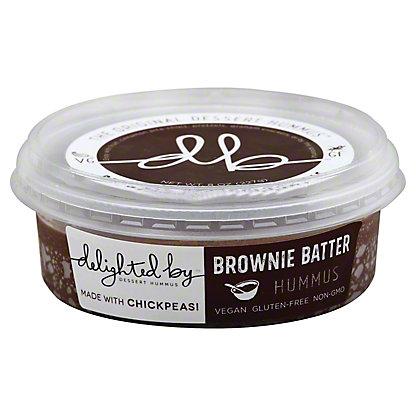 Delighted By Brownie Batter Dessert Hummus, 8 oz