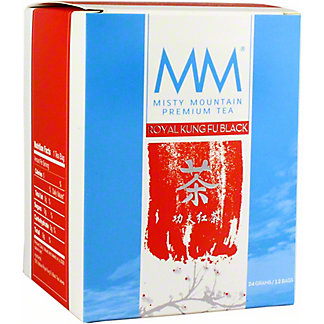 Misty Mountain Royal Kung Fu Black Tea, 12 ct
