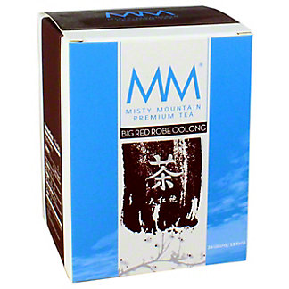 Misty Mountain Big Red Robe Oolong Tea, 12 ct