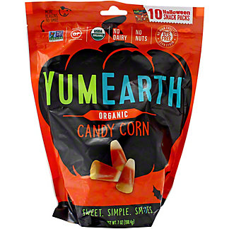 YumEarth Halloween Organic Candy Corn, 10 ct