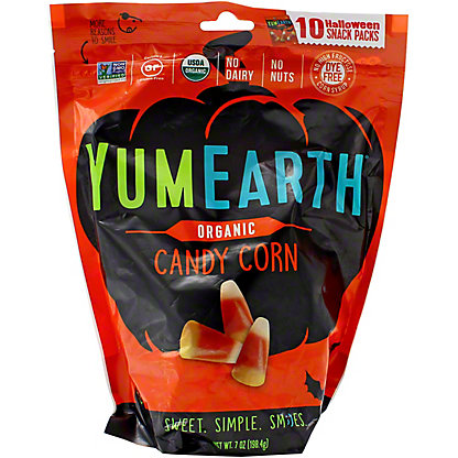 YumEarth Halloween Organic Candy Corn, 10 ct