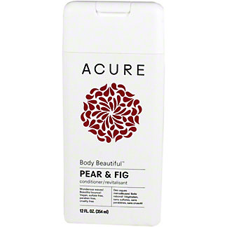 Acure Body Beautiful Conditioner Pear, 12 oz