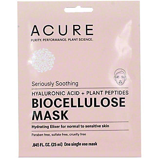 ACURE SS BIOCELLULOSE GEL MASK