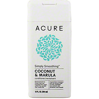 Acure Simply Smoothing Conditioner Coconut, 12 oz