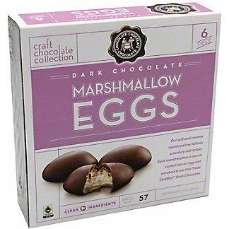 Chocolate Chocolate Chocolate Dark Chocolate Marshmallow Egg, 3 oz