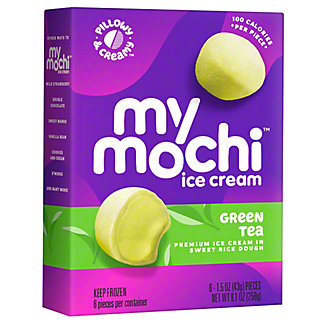 My/Mo Mochi Ice Cream Green Tea, 6 ea