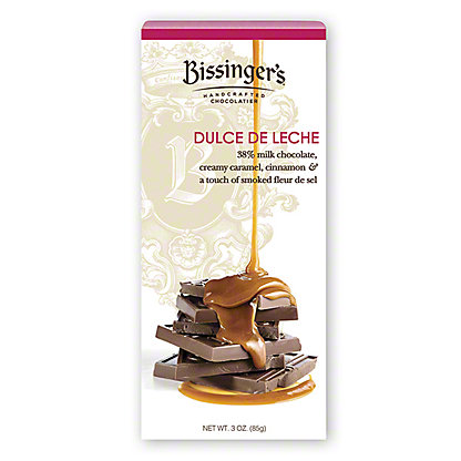 Bissingers Milk Chocolate Dulce De Leche Bar, 3 oz