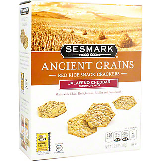 Sesmark Ancient Grain Jalapeno Cheddar, 3.5 oz