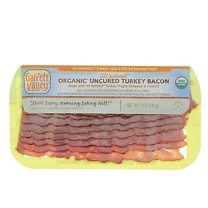 Garrett Valley Sugar Free Uncured Turkey Bacon, 8 OZ