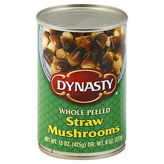Dynasty Straw Mushrooms Whole Peeled, 15 oz