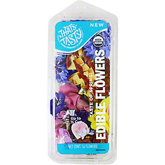 EDIBLE FLOWERS 16 COUNT