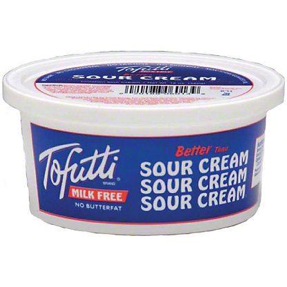 tofutti milk free sour cream 12 oz