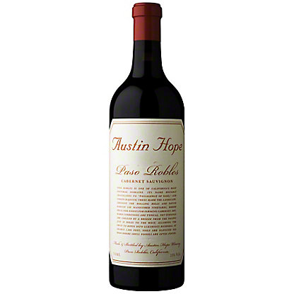 Austin Hope Cabernet Sauvignon, 750 mL