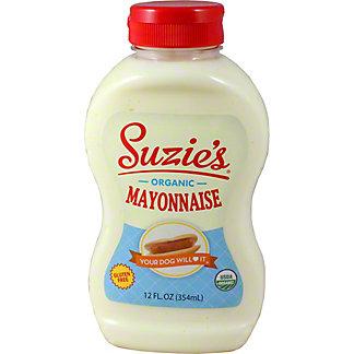 Suzie's Organic Mayonnaise, 12 oz