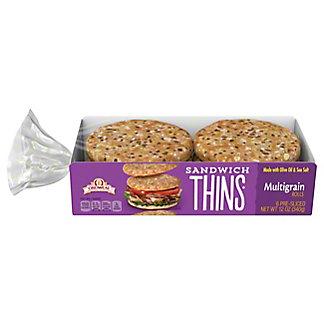 Oroweat Sandwich Thins Multigrain, 6 ct