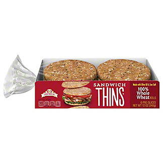 OROWEAT THINS 100% WHOLE WHEAT