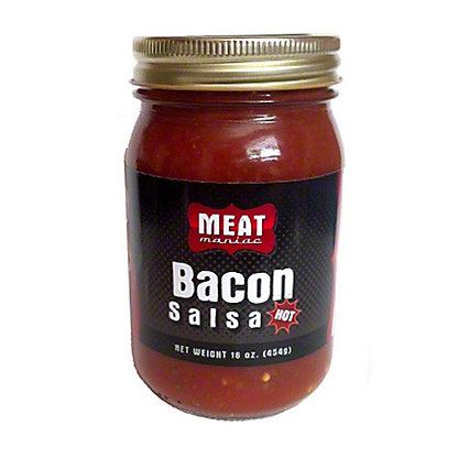 Meat Maniac Bacon Flavored Salsa 'Hot', 16 oz